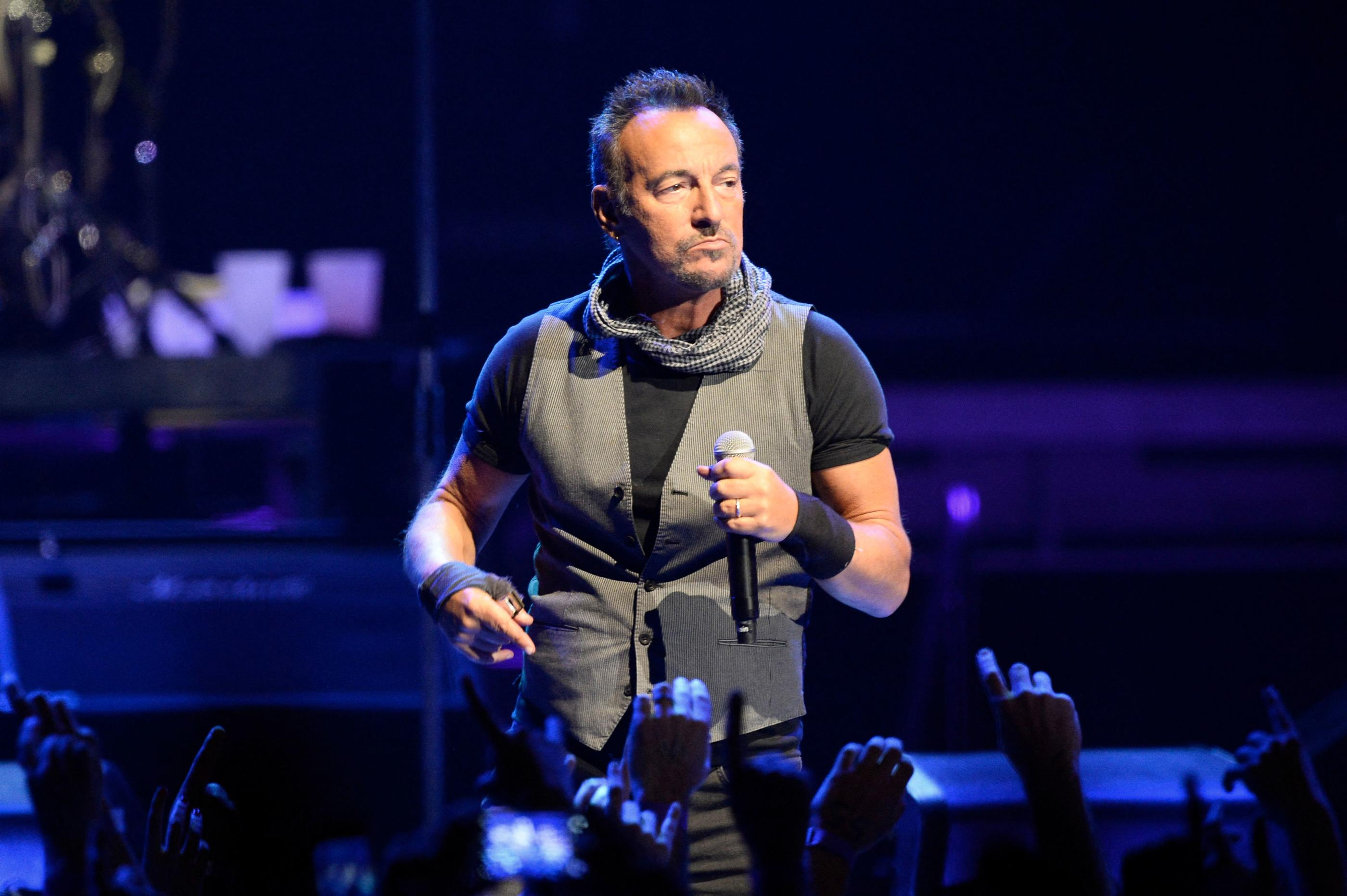 Bruce Springsteen condamné à 540 dollars d'amende pour avoir bu de la tequila dans un parc américain