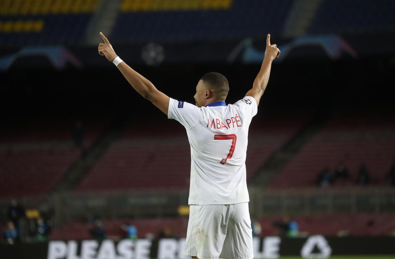 «Vous êtes pas contents ? Triplé !» : cette punchline de Mbappé ressort après son récital contre le Barça