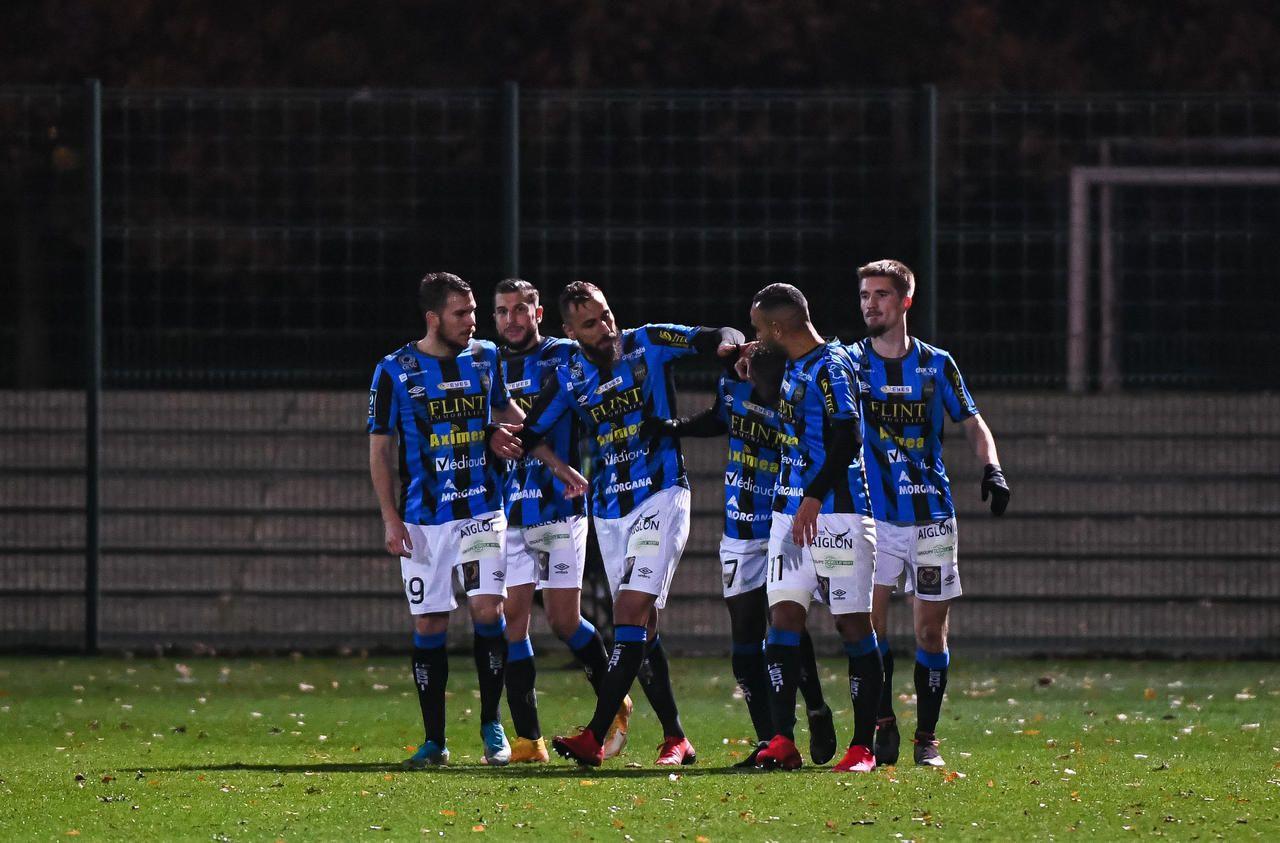 Ligue 2 : Chambly retrouve le sourire face à Rodez
