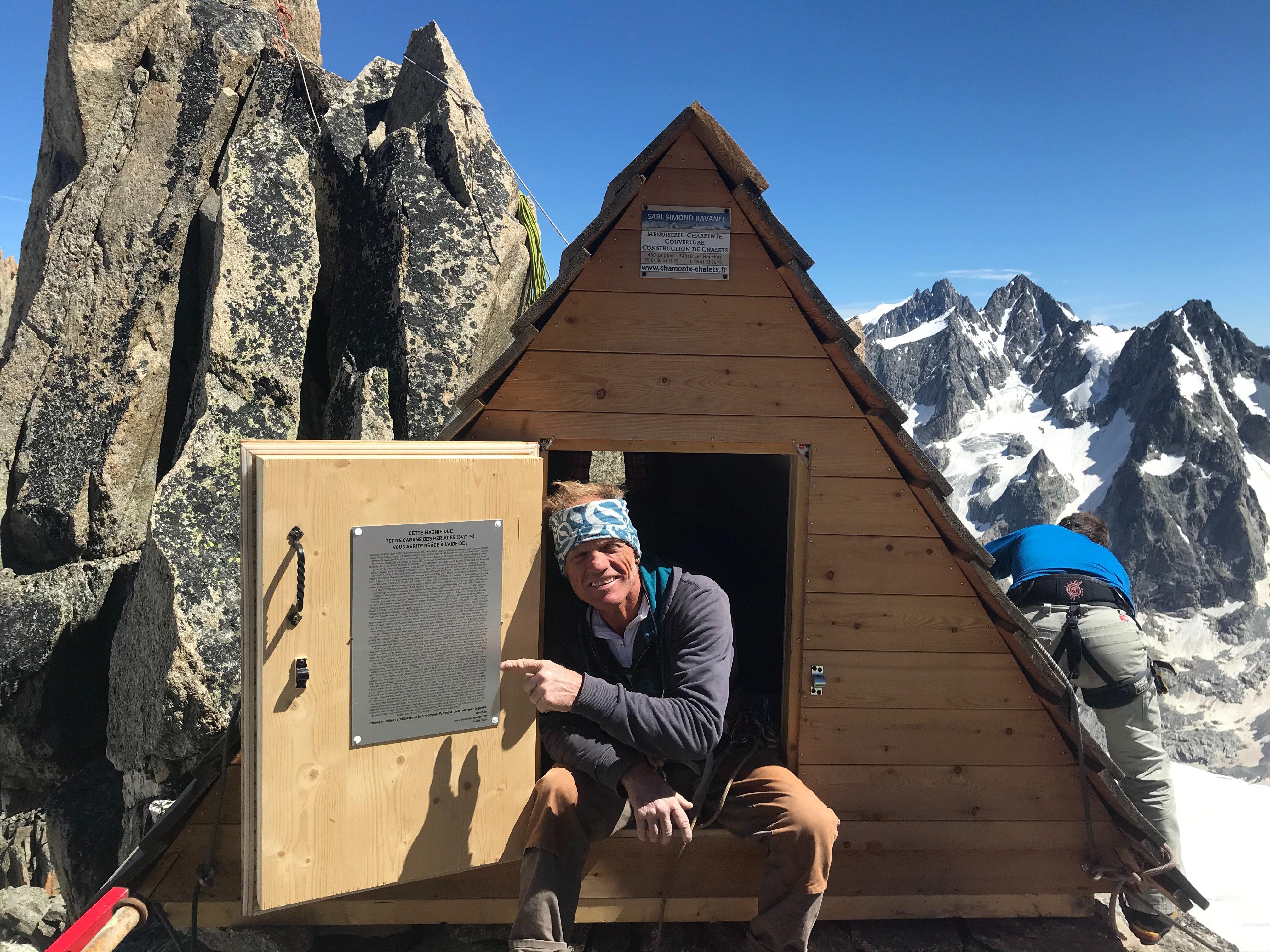Renaissance d'un refuge historique sur le massif du Mont-Blanc