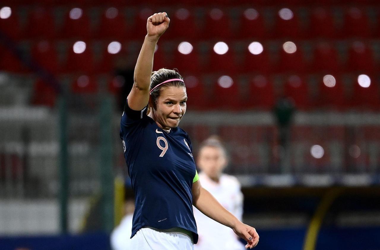 Qualifications pour l'Euro féminin : les Bleues croquent la Macédoine du Nord (11-0)