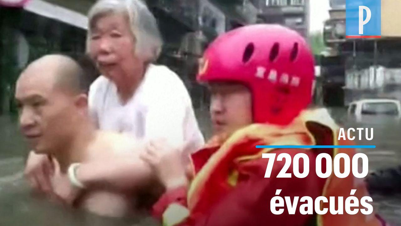 VIDÉO. Chine : des inondations ravagent le sud du pays, faisant au moins 78 morts