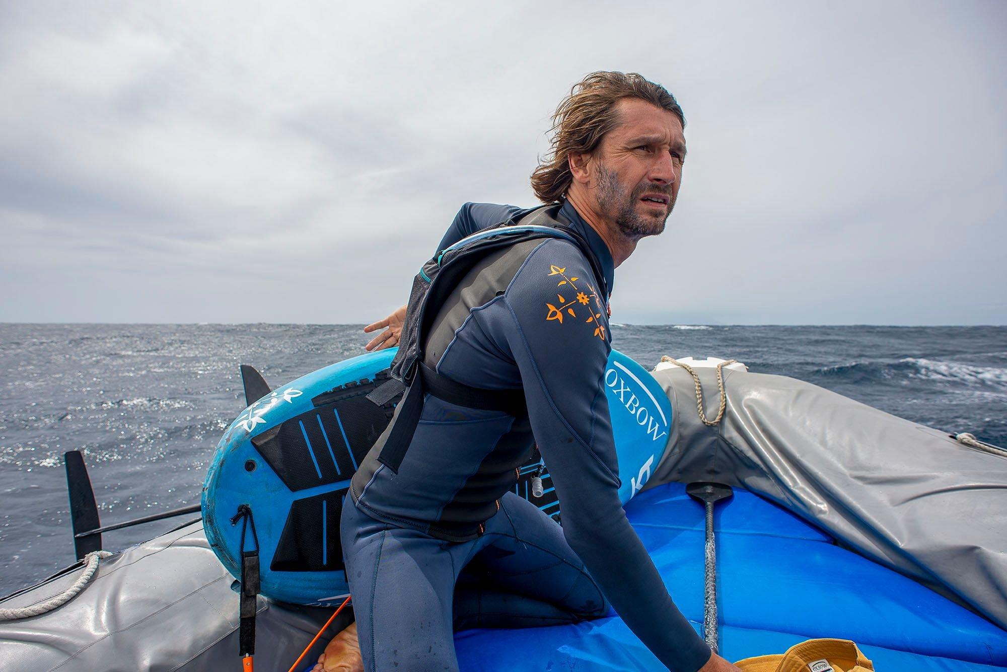 La mort, la mer, le surf, la vie... le destin aquatique de Ludovic Dulou