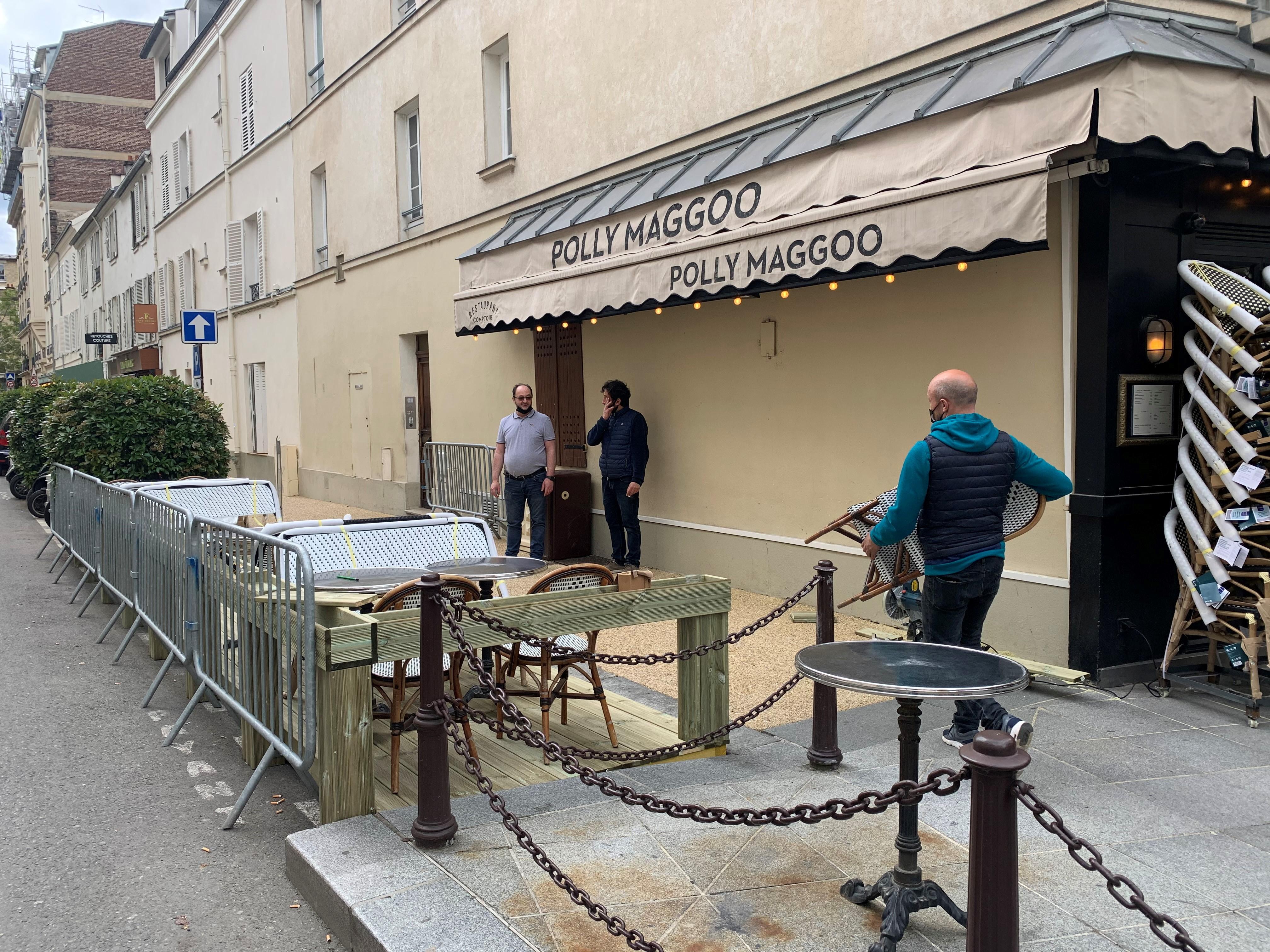Neuilly-sur-Seine: les terrasses éphémères rencontrent un succès fou...avant même leur réouverture