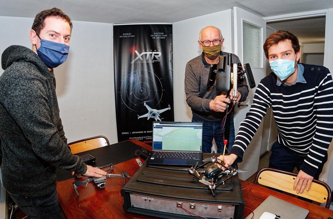 Au Havre, avec XTR, la chasse aux drones est ouverte