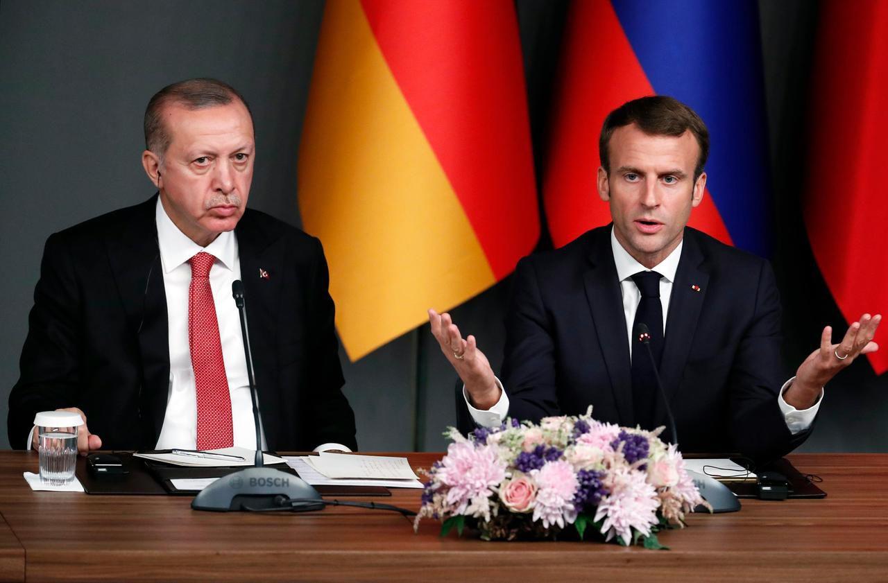 Diplomatie : entre Macron et Erdogan, le torchon brûle