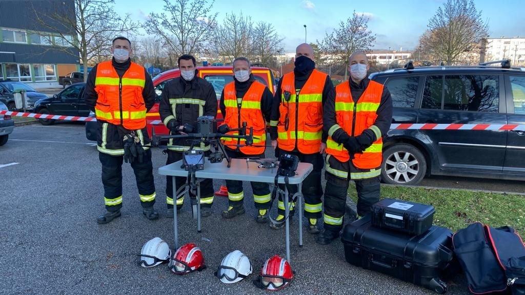 Avec leurs drones, les pompiers des Yvelines gagnent de précieuses minutes «quel que soit le sinistre»