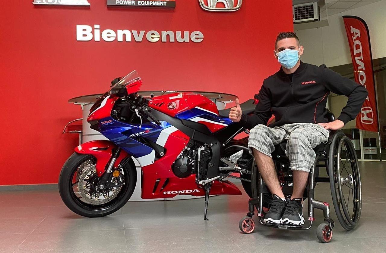 Essonne : le combat de Kevin, paraplégique après un accident, devenu champion de moto
