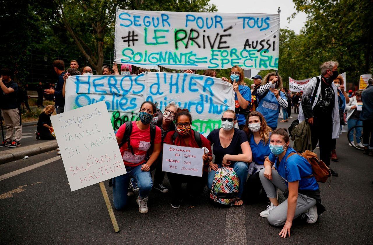 The closure of the Ségur de la santé postponed after the blockage of negotiations