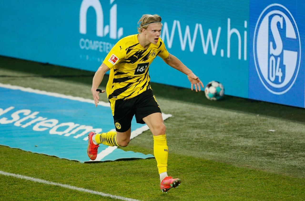 Bundesliga : le geste zlatanesque de Haaland, la pépite scandinave de Dortmund - Le Parisien