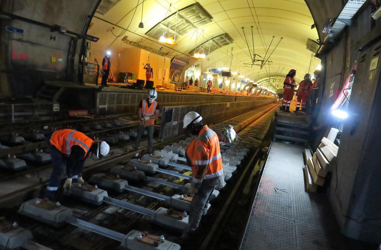 Métro et RER : voici les principales fermetures de l'été