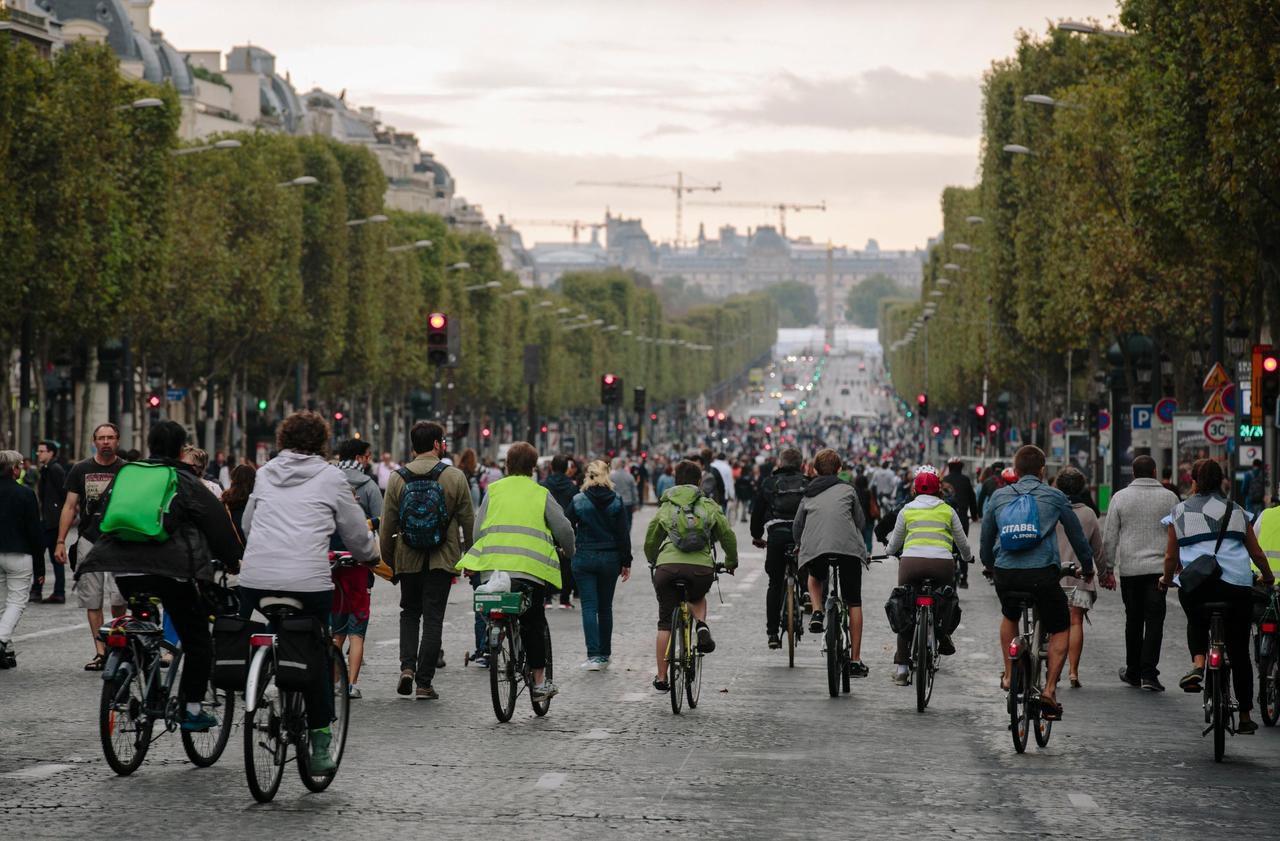 Le mode d'emploi de la journée sans voiture ce dimanche à Paris - Le Parisien