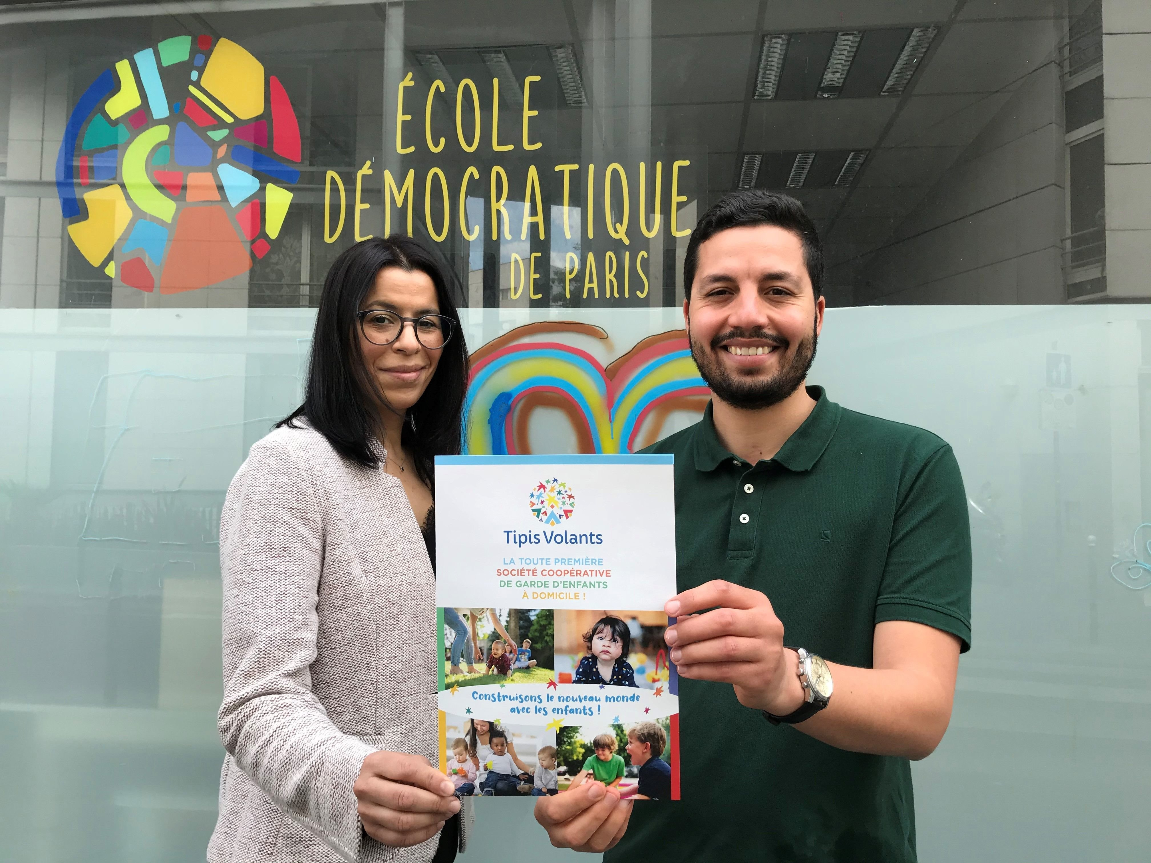 Pantin : grâce à «l'éducation bienveillante», ce duo veut révolutionner la garde d'enfants