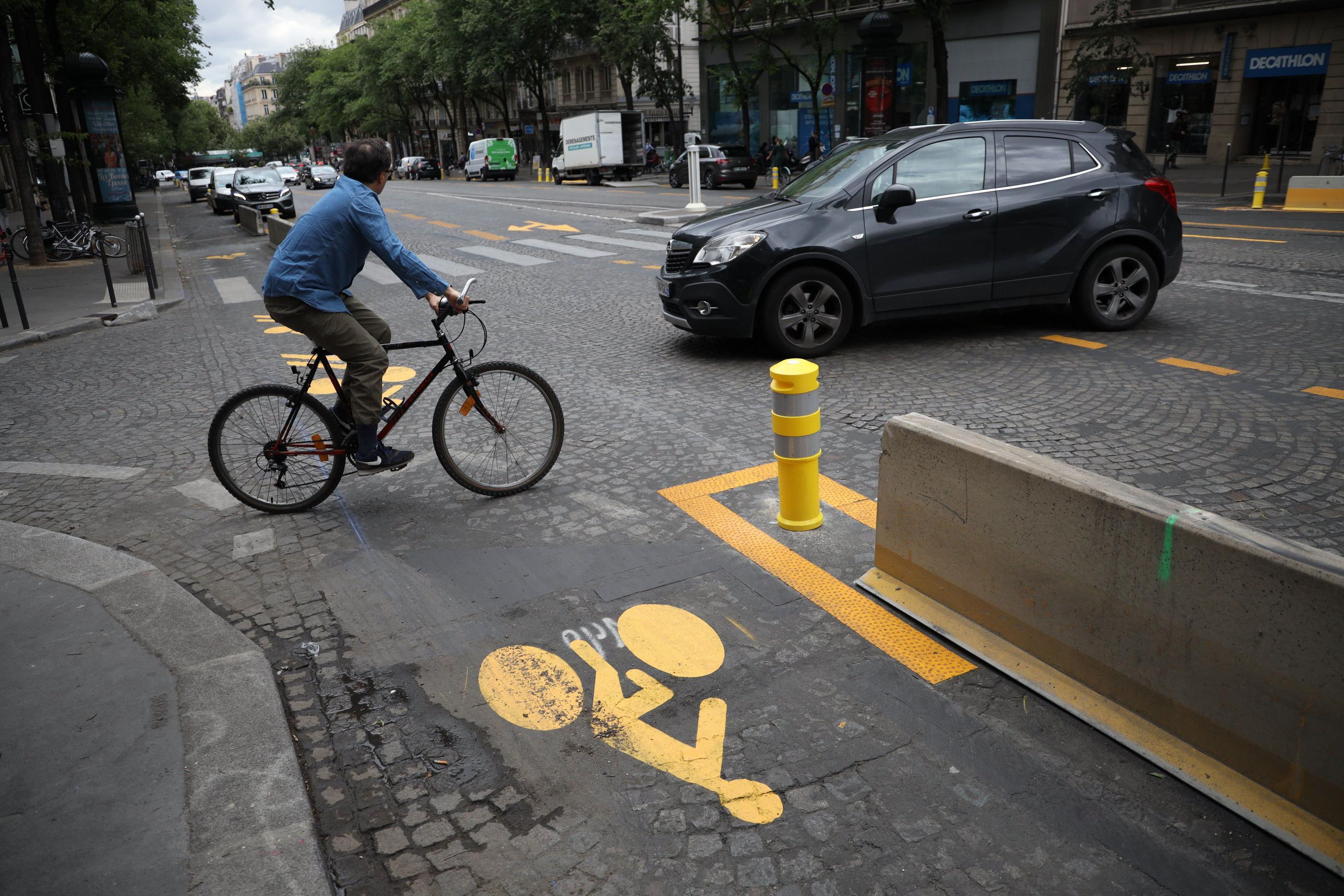 Paris : automobilistes, faites attention aux vélos !