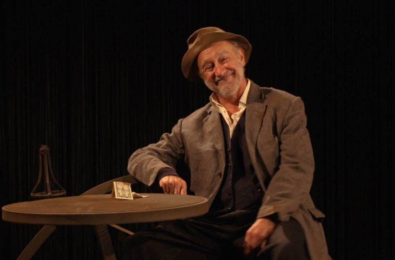 En direct du théâtre : Christophe Malavoy, clochard magnifique