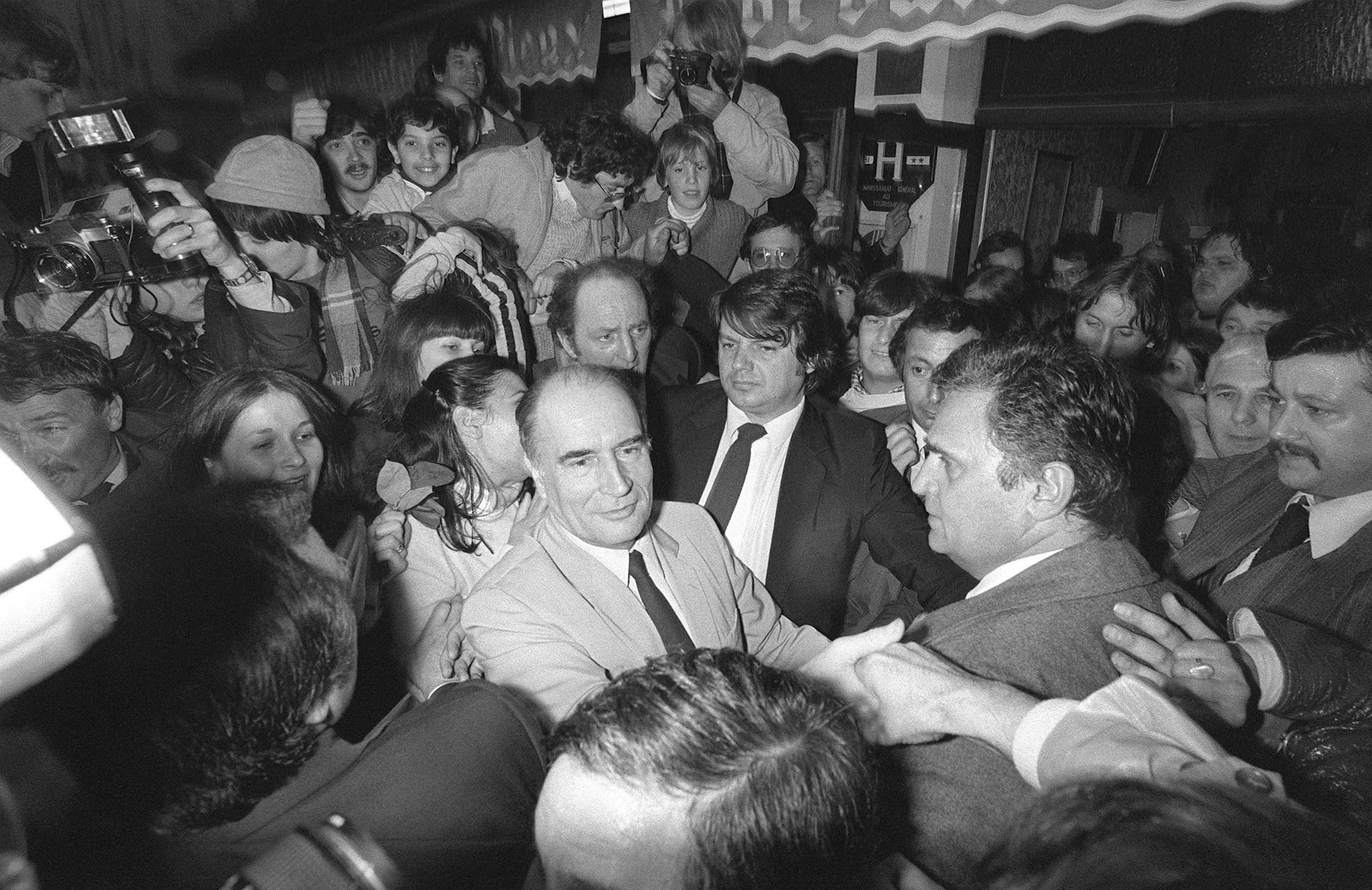 «Même pour commémorer Mitterrand, c'est le bazar» : quarante ans après, la gauche en miettes