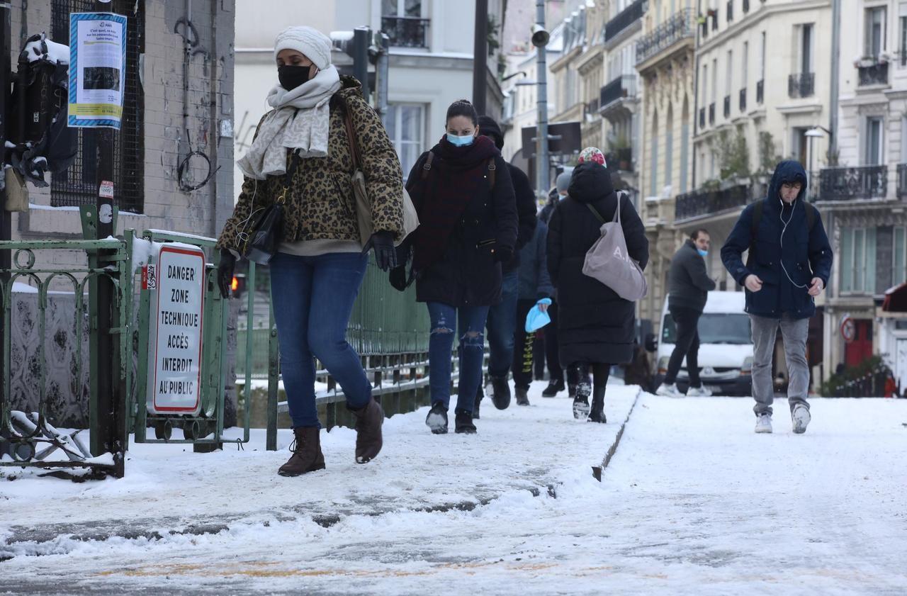 Le pic de froid freine-t-il l'épidémie de Covid-19 ? - Le Parisien