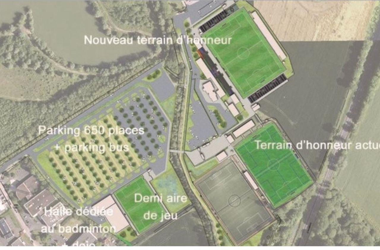 Ligue 2 : les travaux du futur stade de Chambly bientôt à l'arrêt ?