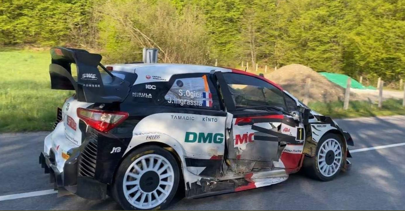Rallye : quelques heures après un accident de la route, Sébastien Ogier arrache la victoire en Croatie