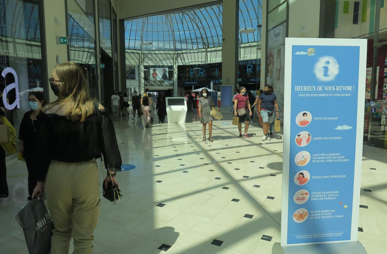 Serris : le centre commercial du Val d'Europe se remet doucement en route