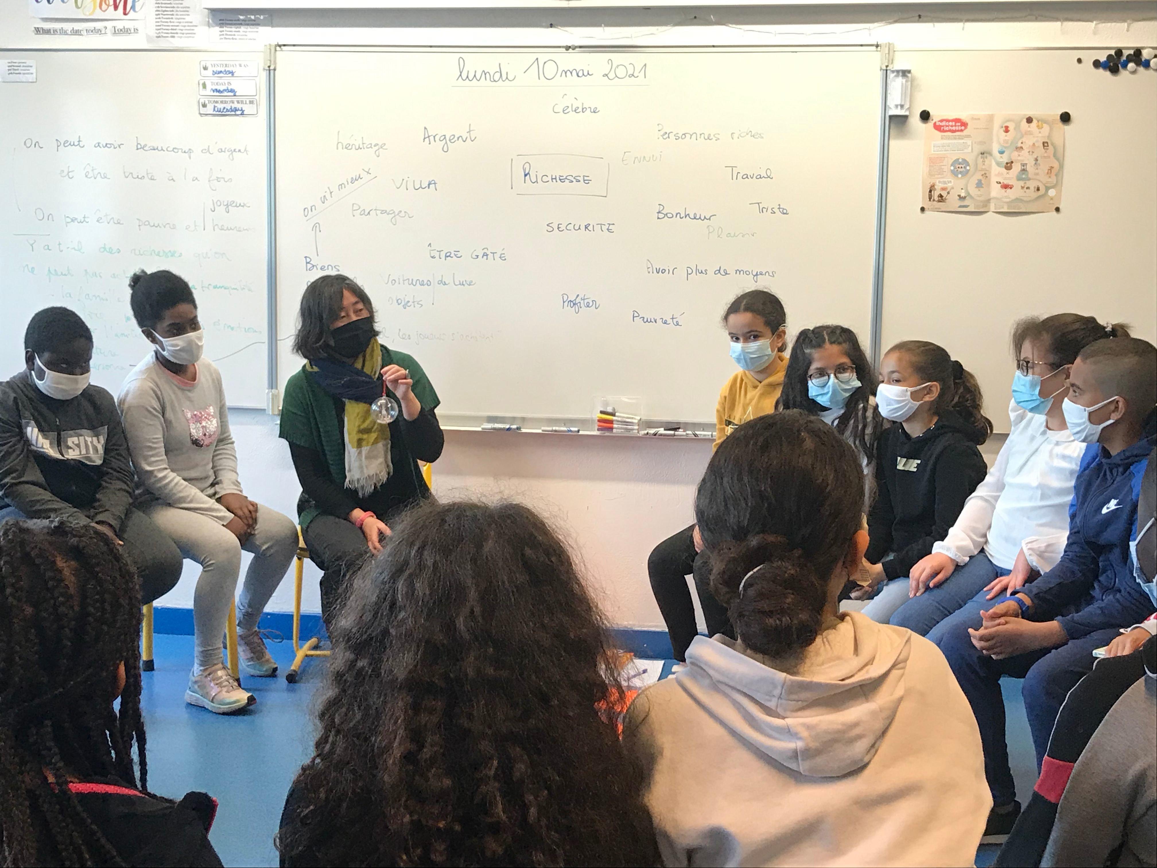 A Trappes, les enfants de primaire font de la philo pour «s'armer contre les obscurantismes»