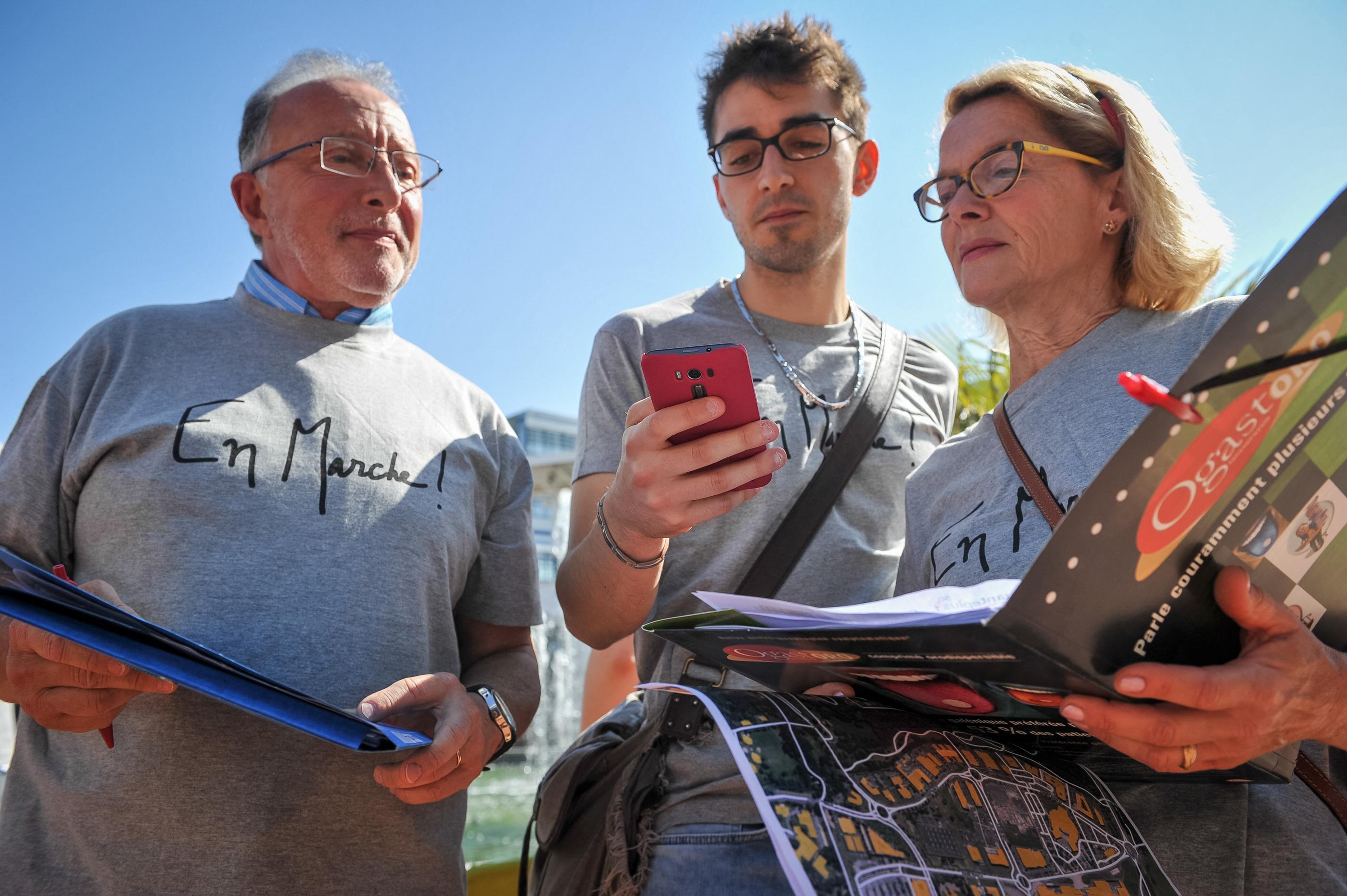 Un grand nombre de candidats utilisent désormais des logiciels de cartographie et de bases de données pour peaufiner leurs arguments et fair