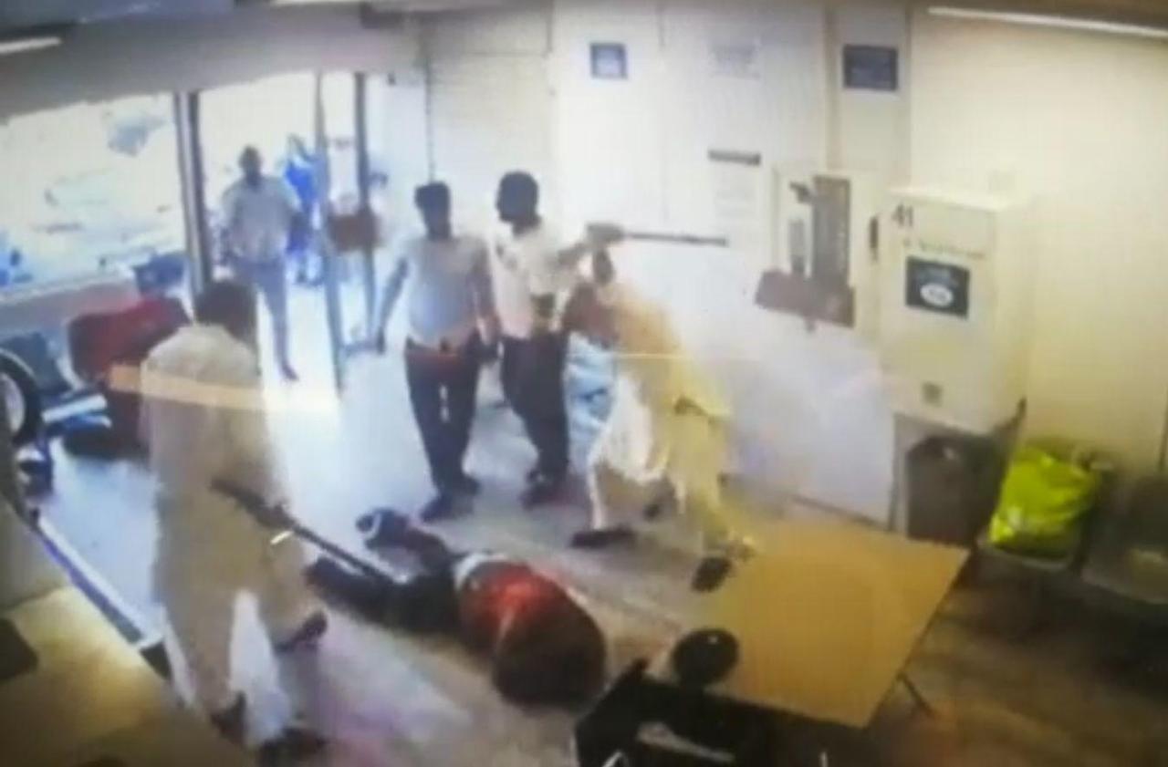 Agression dans une laverie du Val-d'Oise : trois hommes mis en examen