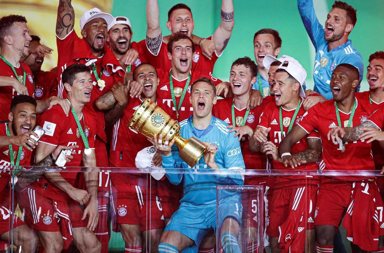Coupe d'Allemagne : le Bayern et ses Bleus se sont baladés en finale