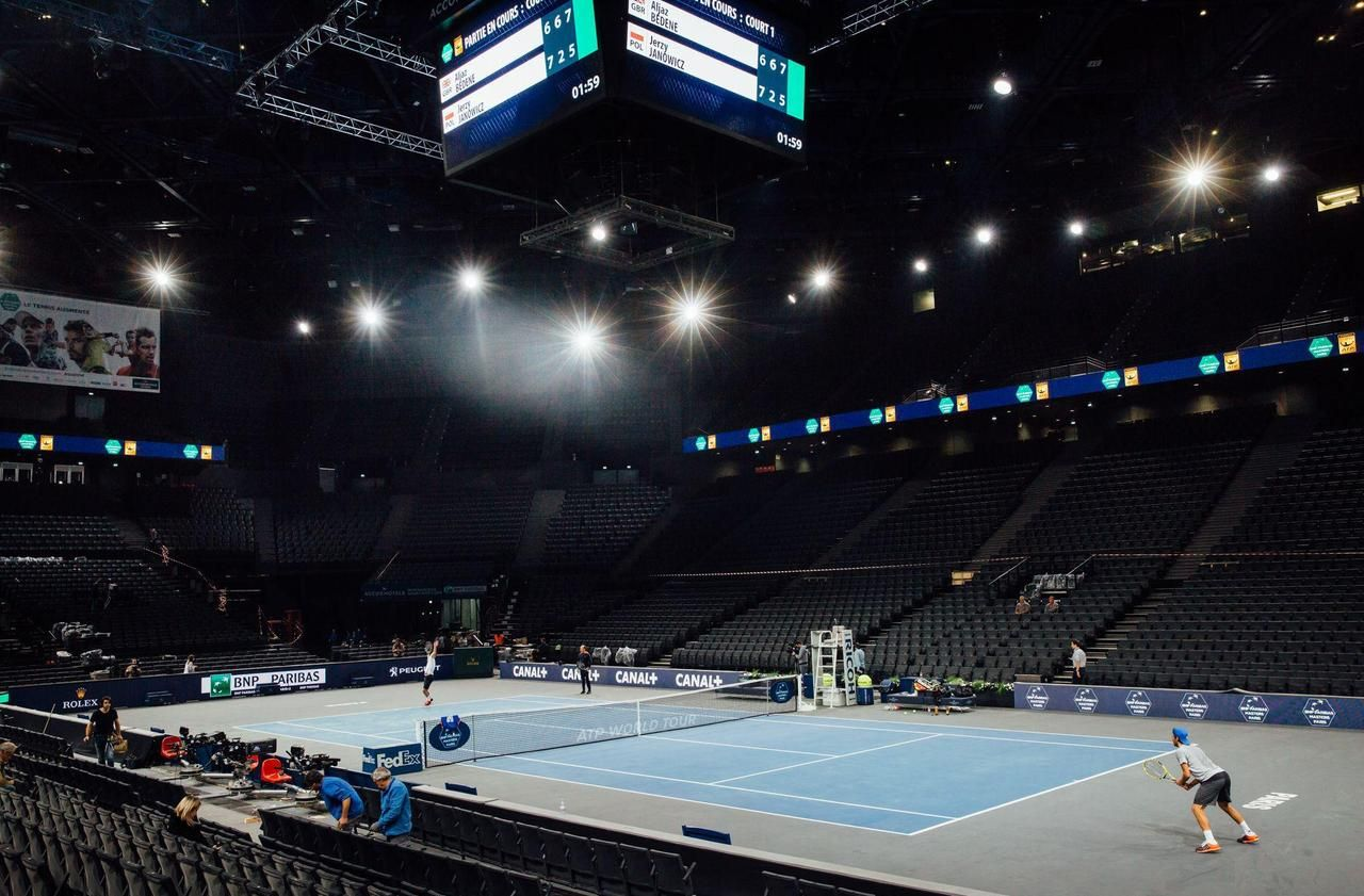 Masters 1000 de Bercy : 1000 spectateurs en journée, huis clos en soirée