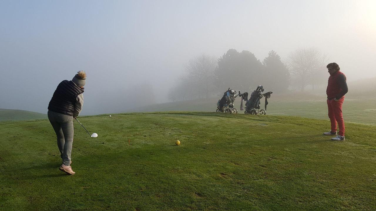 Luzarches : les golfeurs se sont rués à Mont Griffon