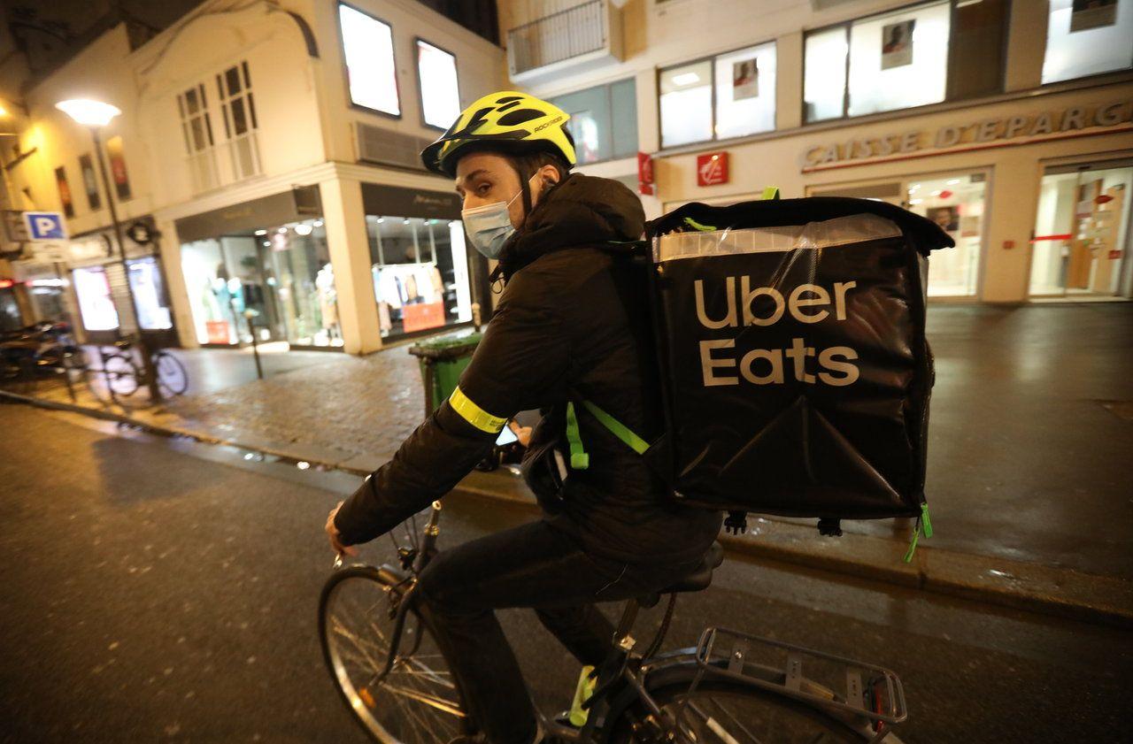 Boom des livraisons de repas : des soirées dans la peau d'un coursier Uber Eats - Le Parisien