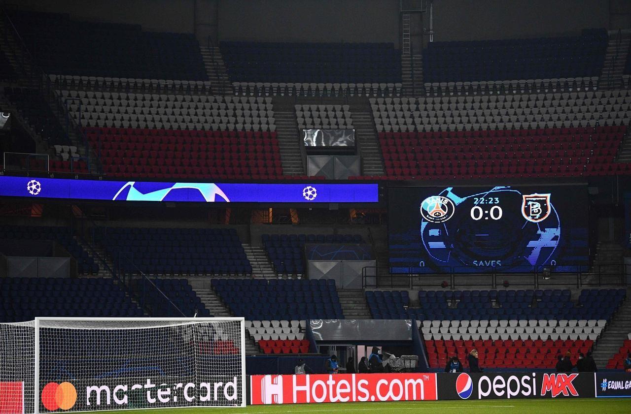 PSG-Basaksehir : le match, interrompu à la 14e minute, reprendra mercredi à 18h55