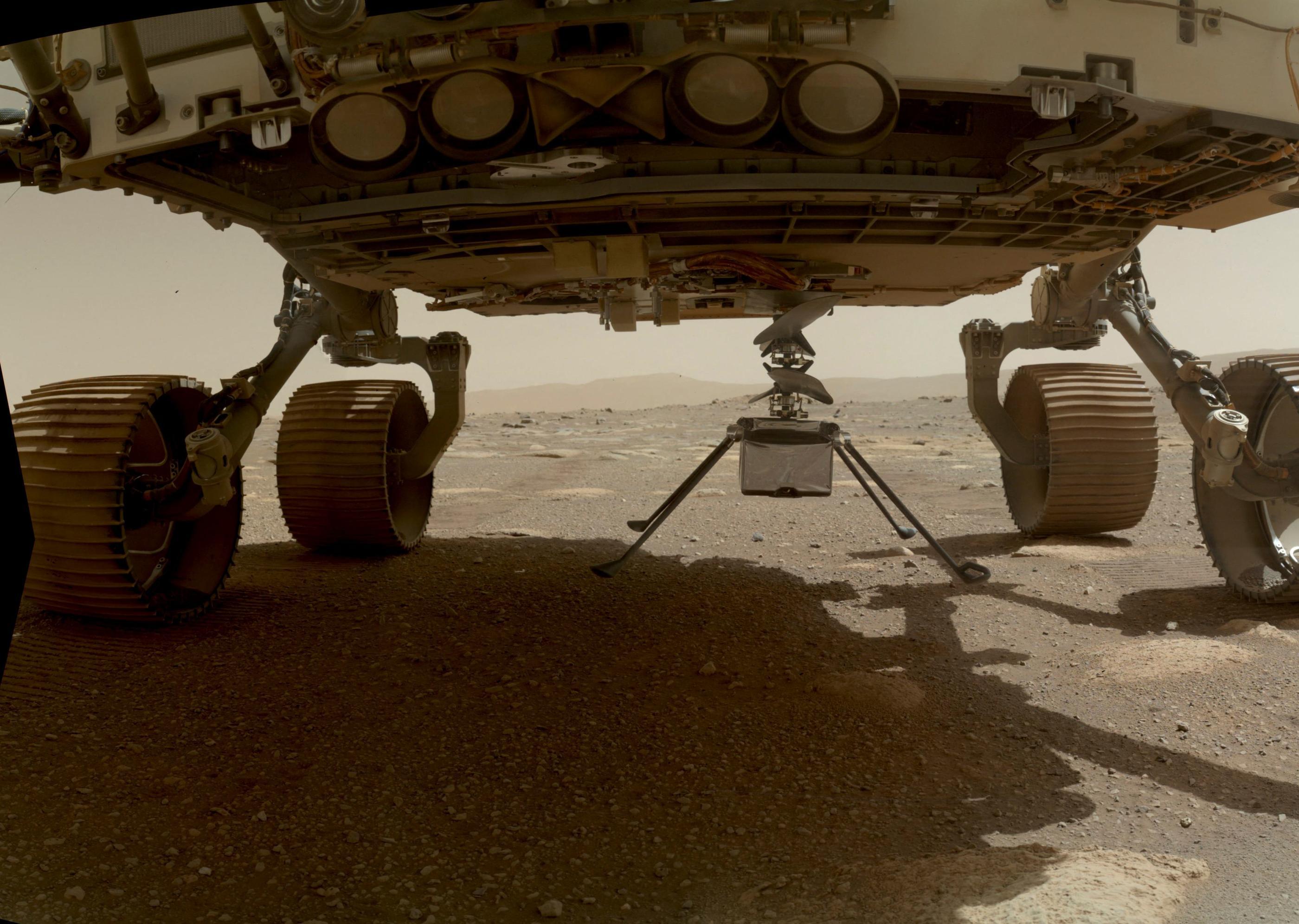 Mission Perseverance : l'hélicoptère Ingenuity a bien réussi son premier vol sur Mars, annonce la Nasa