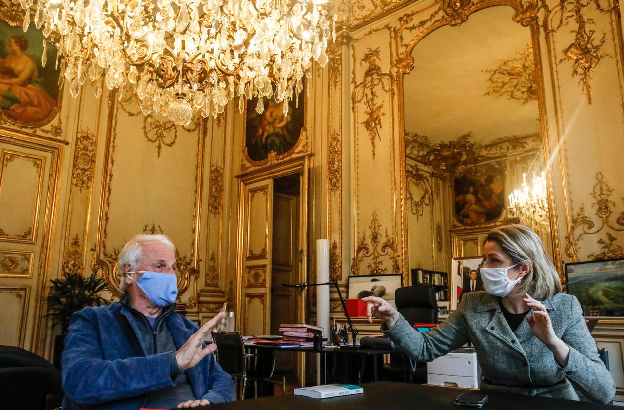 Yann Arthus-Bertrand face à Barbara Pompili : «Il n'y a pas de vaccin contre le réchauffement climatique»