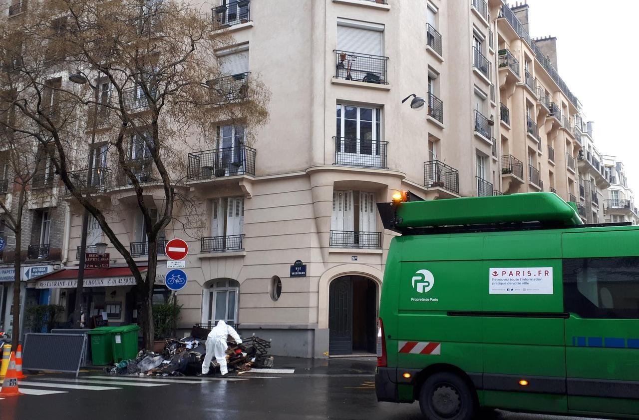 Un blessé léger dans un incendie à Paris