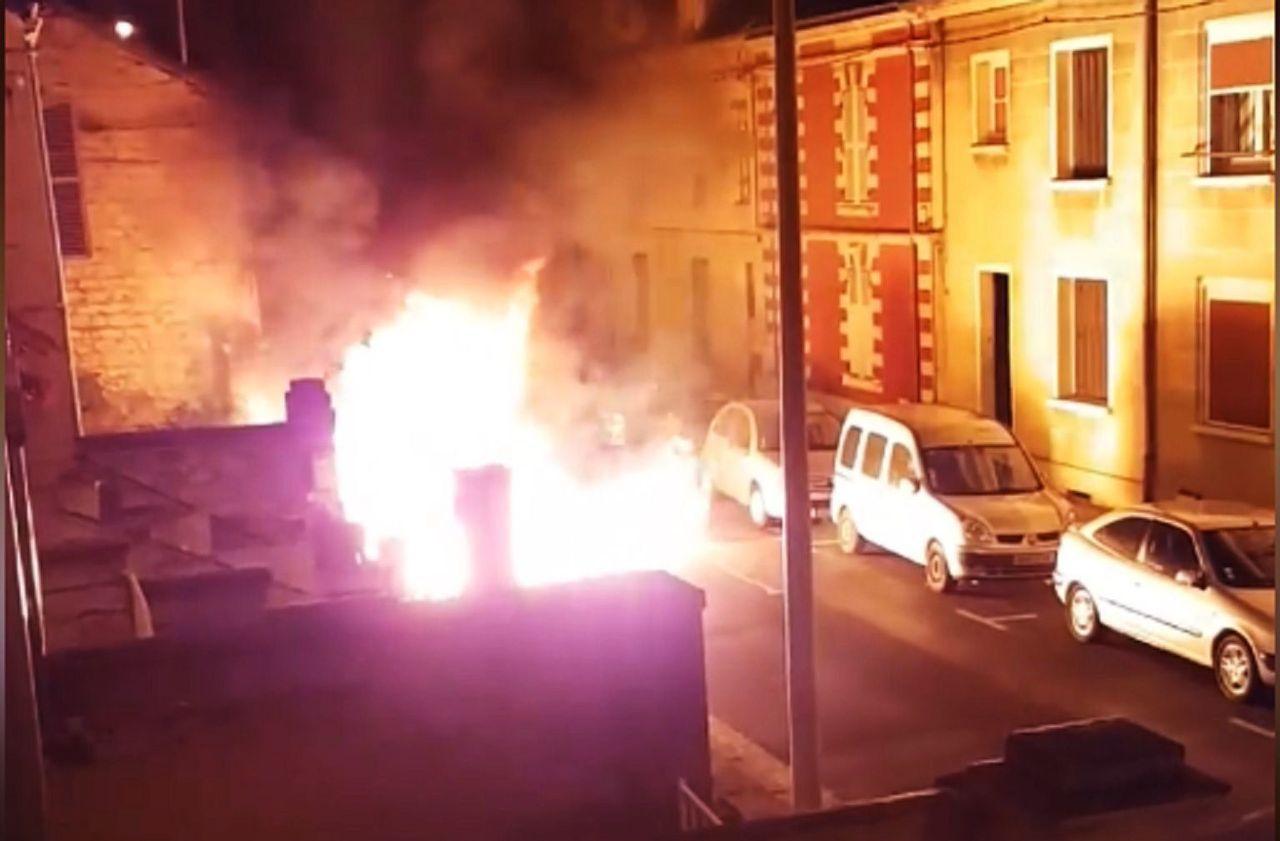 Incendie de la voiture du maire de Creil : relaxé, un suspect attaque un témoin