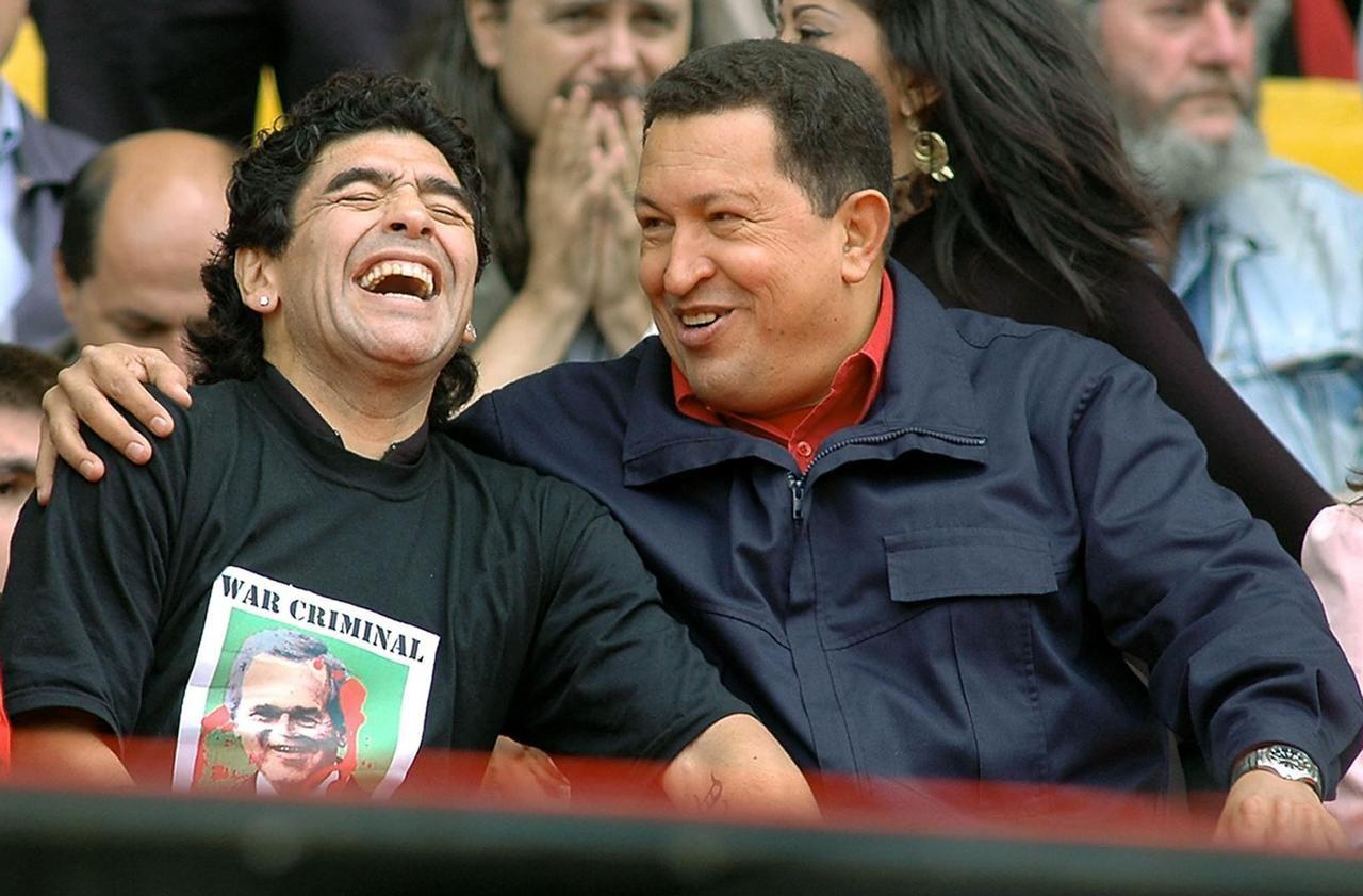 Maradona, l'argent et la gauche : «Il n'avait aucune honte à afficher ses positions»