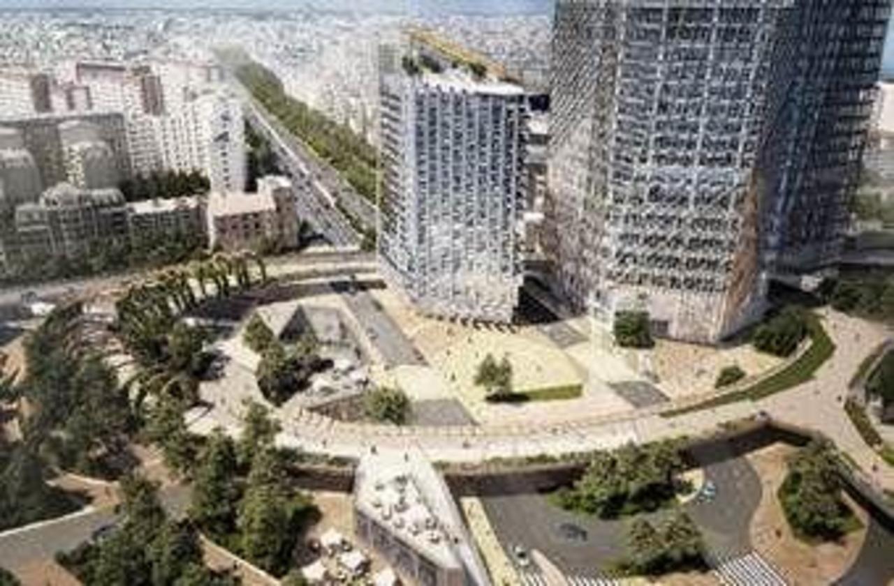 La Défense : nouvelle étape vers la promenade suspendue