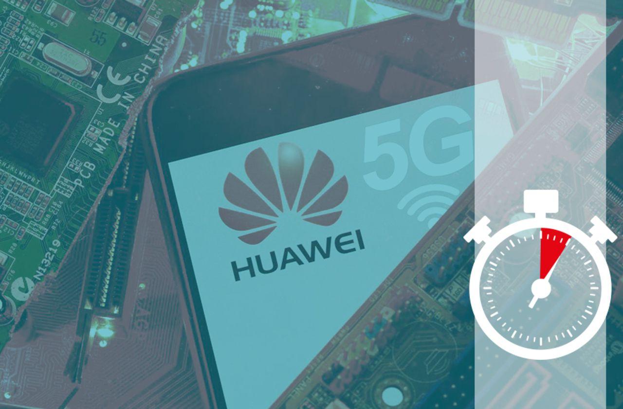 5G : cinq minutes pour comprendre la mise à l'écart de Huawei en France
