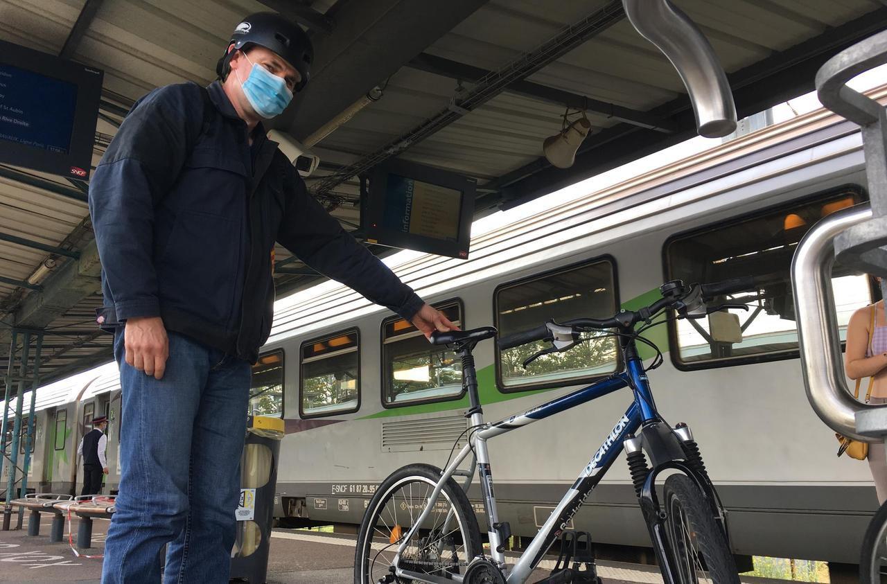 SNCF : les cyclistes ne trouvent pas leur place dans les trains normands