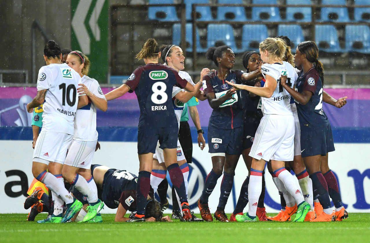 Coupe de France féminine : PSG-OL ou l'histoire d'une longue rivalité
