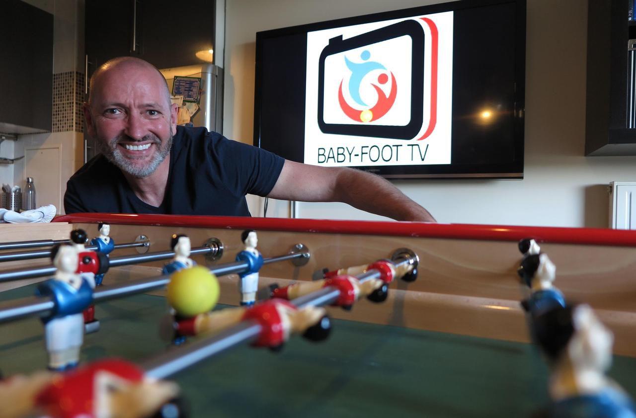 Val-d'Oise : il lance une webTV sur le Baby-foot