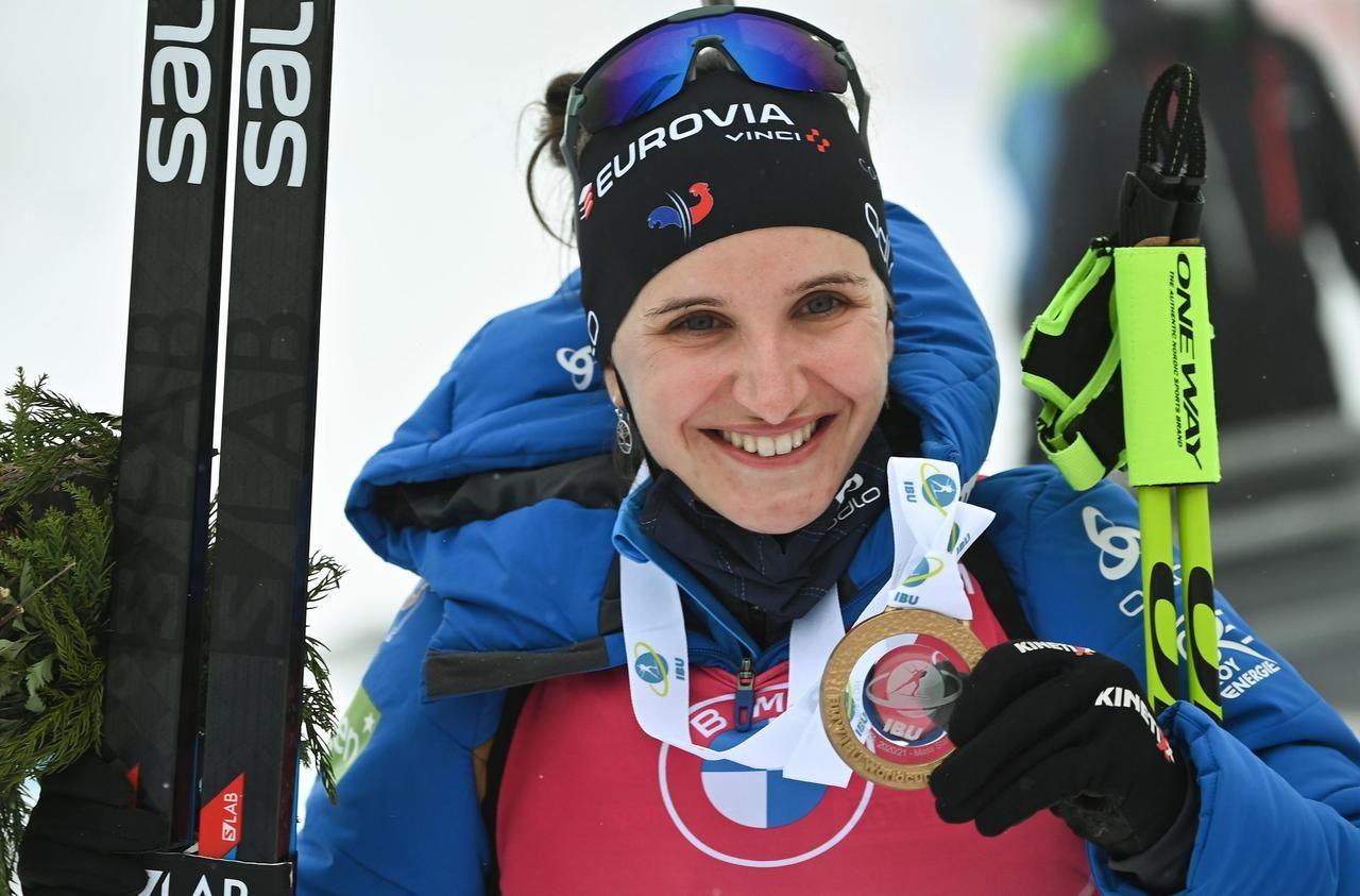 Biathlon : un samedi en or pour le camp français
