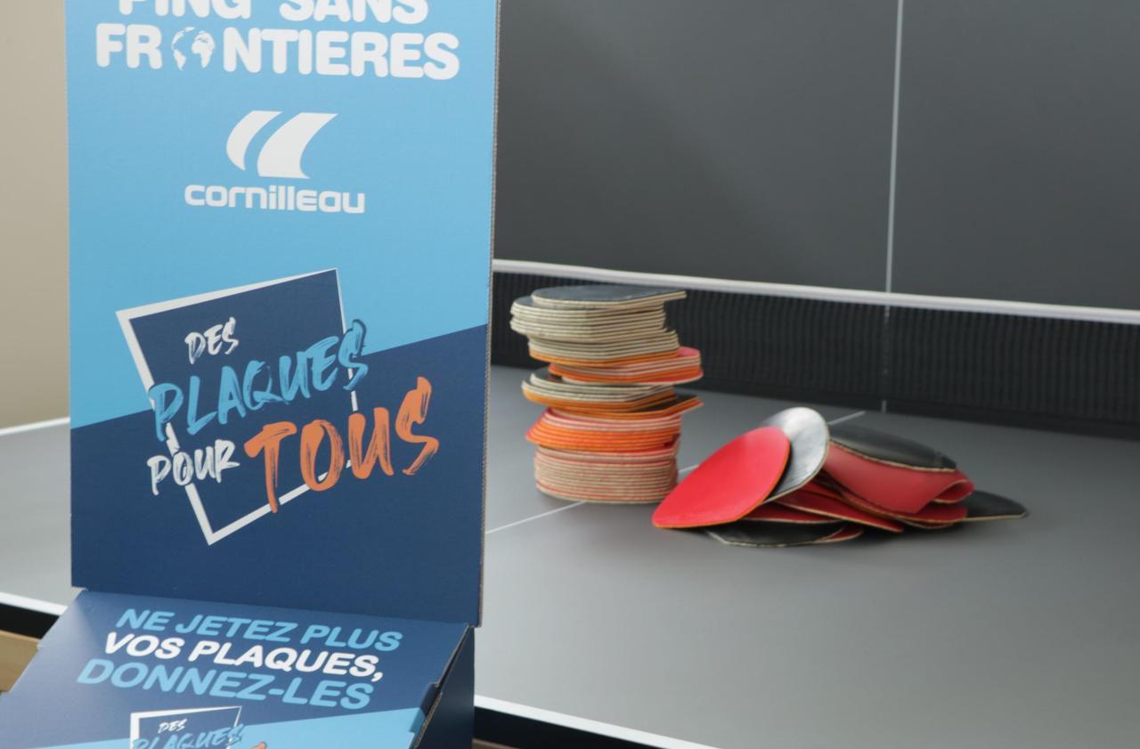 Dans l'Oise, ne jetez plus vos vieilles raquettes de ping-pong !
