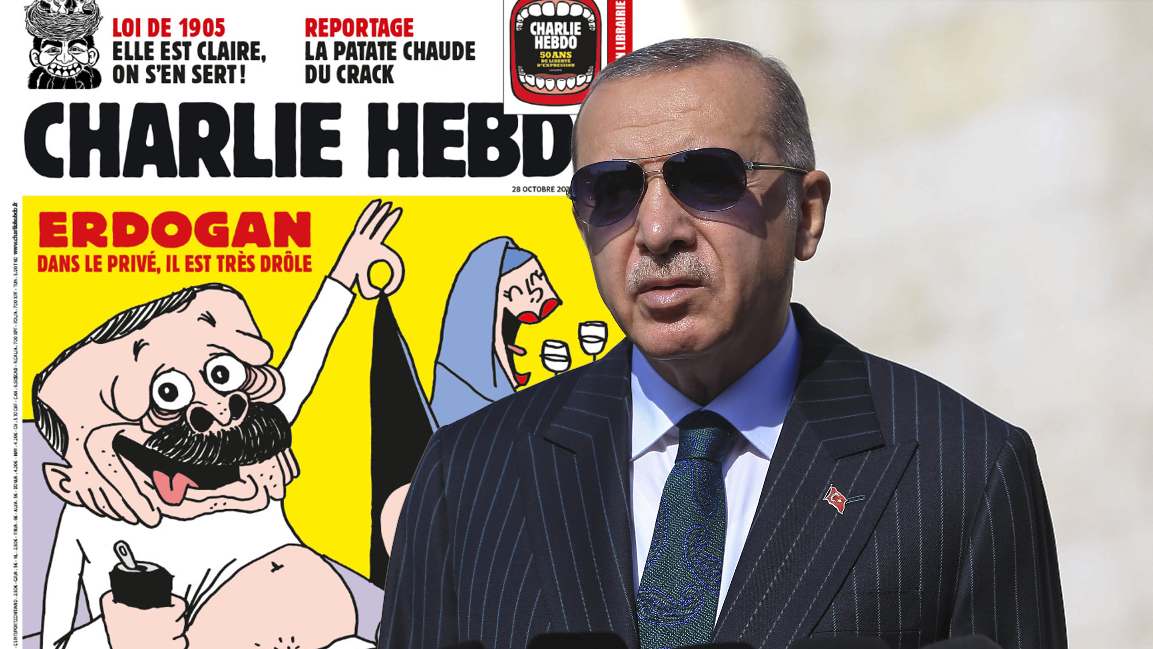 """""""Charlie Hebdo"""" veröffentlicht Erdogan-Karikatur als Titelbild"""