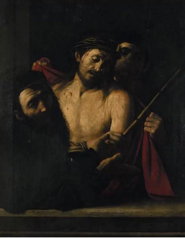 'Ecce homo' retirado de la subasta de la Casa Ansorena de Madrid.