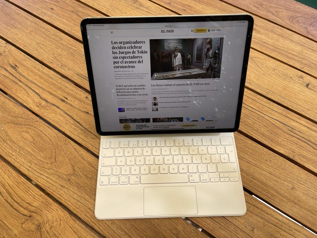 iPad Pro, a prueba: la tableta más potente de Apple con una cámara que sigue al usuario en las videollamadas