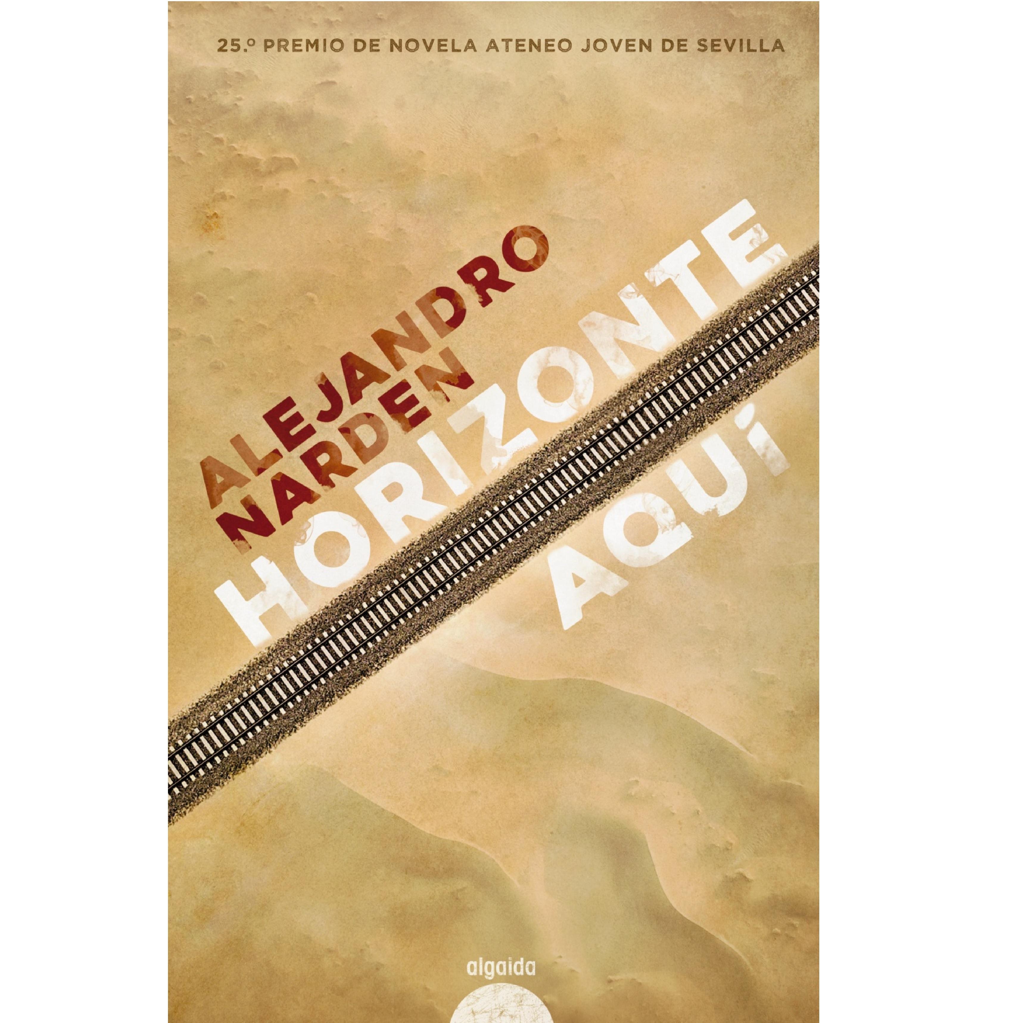 Portada de 'Horizonte aquí', de Alejandro Narden.
