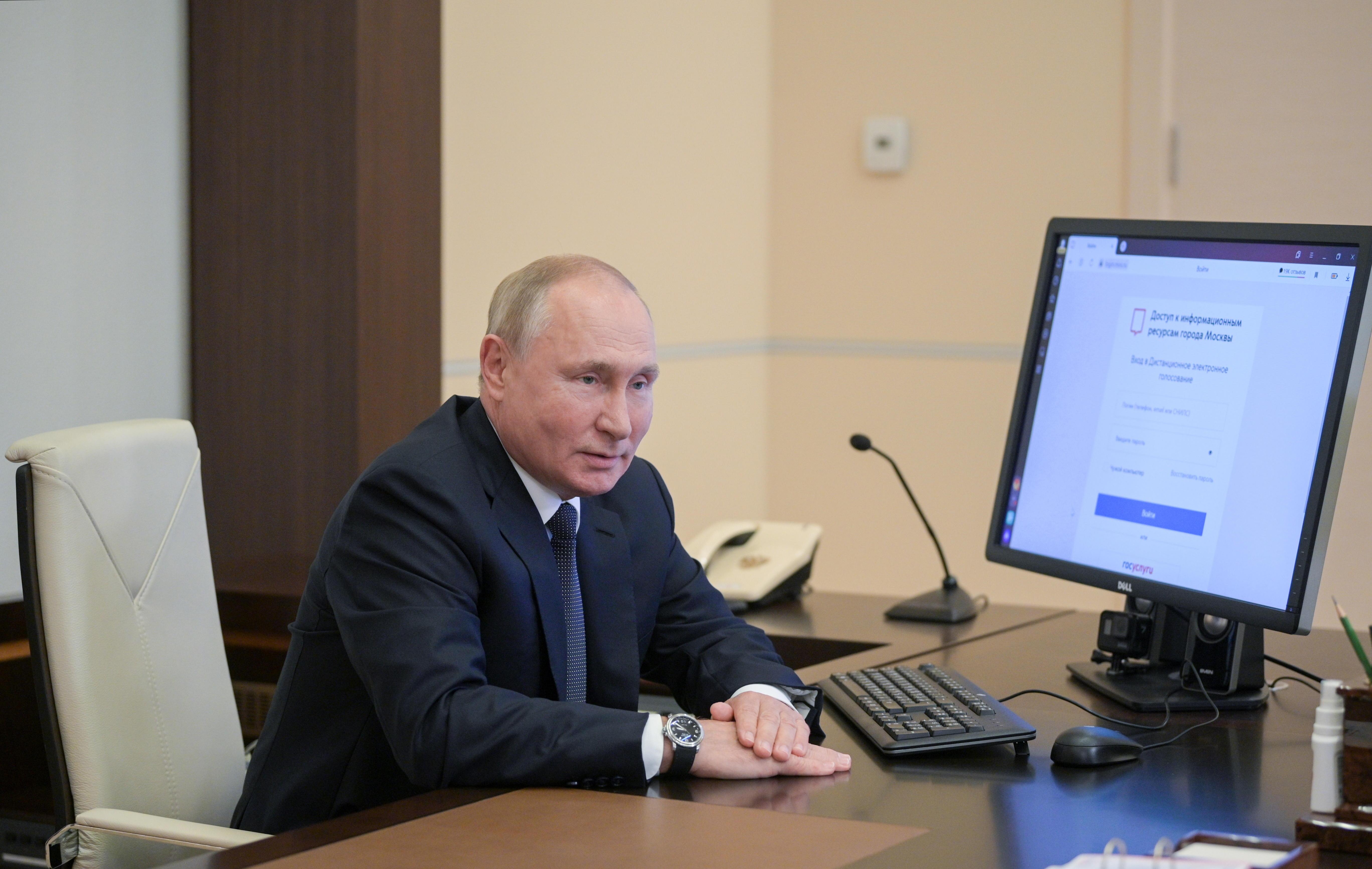 Las elecciones parlamentarias en Rusia miden la fuerza de Putin tras la pandemia