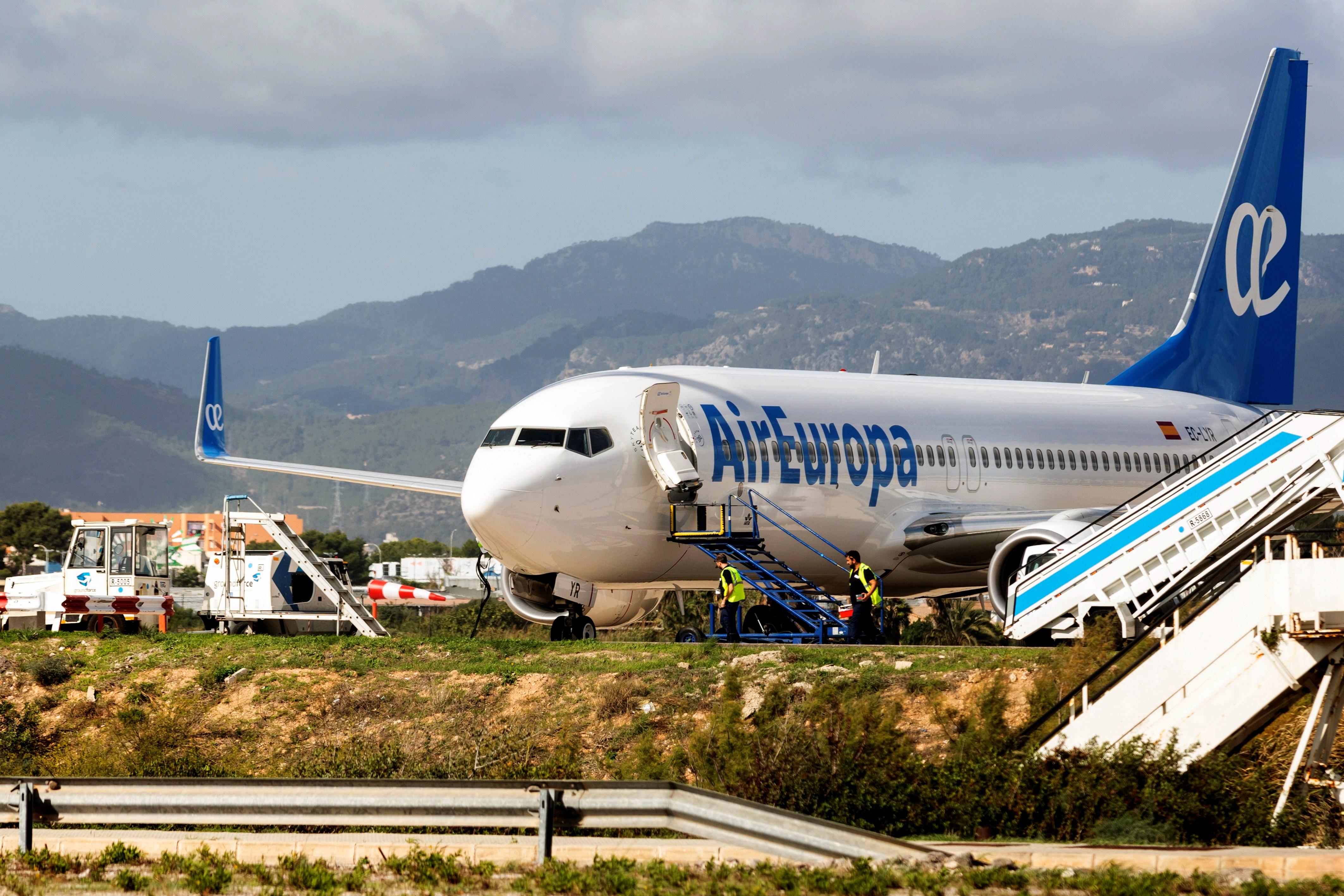 Air Europa pide 400 millones al Gobierno para evitar la quiebra